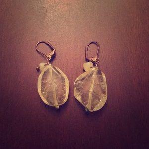 Jewelry - Beautiful simple Crystal earrings